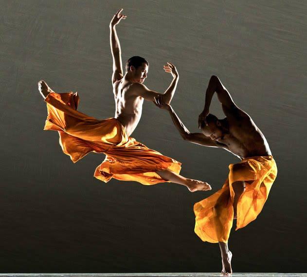 art, beau, couple, danse, homme, lumiere